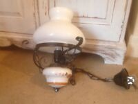 French vintage ceiling lamp