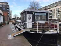 UNIQUE OFFICE BARGE TO RENT ON REGENTS CANAL