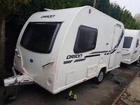 Bailey Orion 400/2 2 berth caravan 2013, Awning, VGC, light to tow, Bargain !