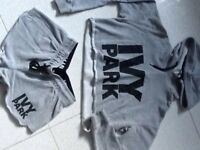 Ivy Park Hoodie and Shorts