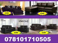 SOFA 3+2 AND RANGE CORNER LEATHER AND FABRIC BRAND NEW ALL UNDER £250 20354