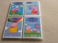 Peppa Pig DVD Bundle 4 discs