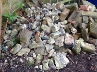 FREE Hardcore and some bricks for shed bases etc can be collected