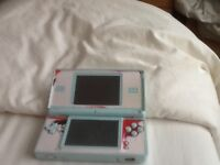 Nintendo 8DS lite and games