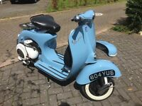 1959 Vespa Douglas 125CC Restored! MOT & TAX EXEMPT