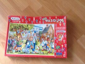 Kids wasgij jigsaw titled foul play 250 pieces