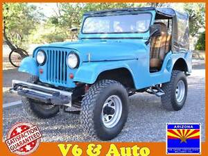 Classic-Jeep-CJ-V6-Automatic-Vintage-Arizona-Offroad-4x4-CJ5-Tow-4wd-Off-Road