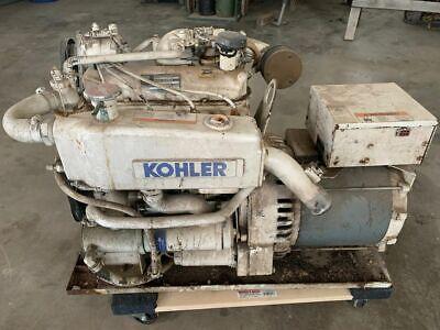 Kohler 12c 12 Kw Gas Marine Generator