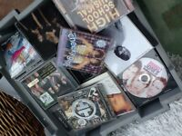 Quantity of CD's and DVD's