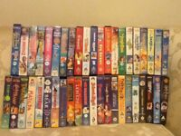 I have 40 children's VHS video cassettes for sale. Some Disney favourites and some Harry Potter.