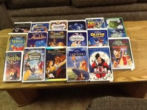 VHS Movies and Animated Disney Movies