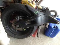 cbr 1000rr 2006 wheel swingarm