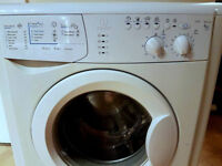 White Indesit Washing Machine for sale. Fully working and clean. 1200s spin, 6kg, DELIVERY