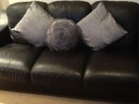 Cushions in soft grey UNUSED