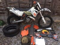 2009 KTM 250 EXC Six Days-two Stroke, 123 HOURS