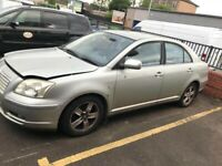 SPARE REPAIRS PARTS - Toyota Avensis