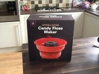 Candy Floss maker - Andrew James - Brand new - boxed