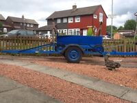 Yacht/boat trailer with bogey launch £450 ONO