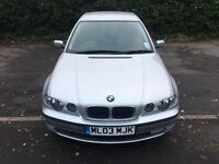 2003 Bmw 316ti se automatic 65.000 miles swap for recovery truck