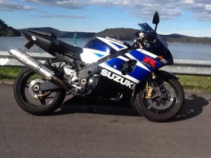 GSXR 1000 k3 Blue/white Epping Ryde Area Preview