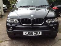 Black BMW X5 Sport