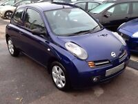 2003/03 NISSAN MICRA 1.2 16v SX 3dr CLIMATE CONTROL + PARKING SENSORS, LOTS OF SERVICE HISTORY
