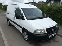 FIAT SCUDO VAN 1.9 DIESEL WITH DECEMBER MOT AND 3 SEATS