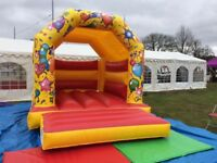 HIRE A BOUNCY CASTLE FOR KIDS BIRTHDAY PARTY - STANDARD SIZE - FREE DELIVERY WITHIN 2 MILES RADIUS