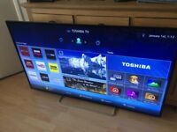 "Toshiba 55"" smart 3D WiFi freeview fullHD 1080p"