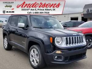 2017 Jeep Renegade Limited *NAV/Heated Seats/4x4*