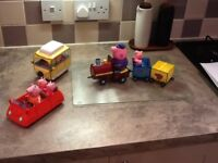 Peppa Pig play set - great condition