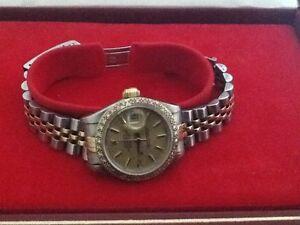 Womens diamond bezel Rolex watch Cornubia Logan Area Preview