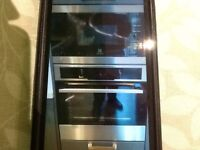 Electrolux oven and microwave( microwave will need to go in a housing)