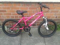Girls mudyfox bike