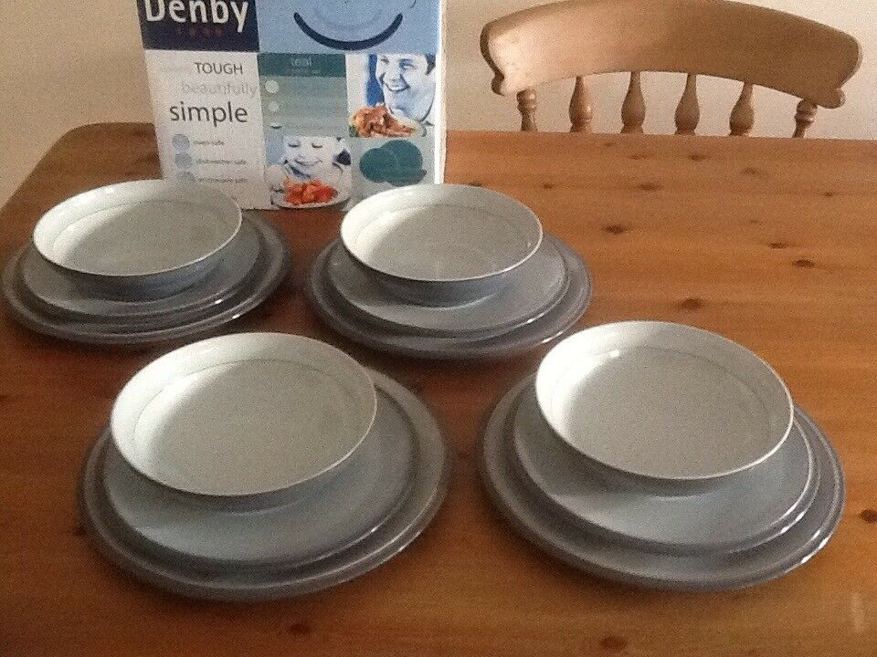 Denby Everyday 12piece dinner service in Teal | in Lowestoft ...