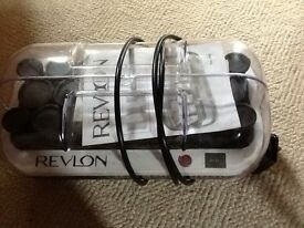 Revlon electric hair rollers set