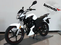 Lexmoto Aspire 125 125cc Commuter Learner Motorcycle Flexible Payment Terms & Nationwide Delivery