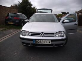 VW Golf in excellent condition