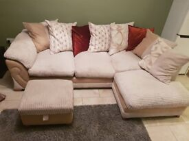 DFS Corner Fabric Sofa - 2.5yrs old - Great Condition!