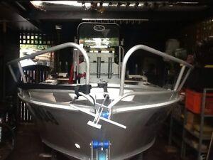 Alloy centre console 4.7 fishing boat Seaford Frankston Area Preview