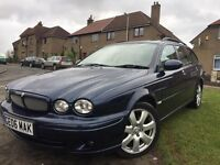 PRICE DROPPED....2006 JAGUAR X-TYPE ESTATE 2.0 LITRE DIESEL YEARS MOT......PRICE DROPPED
