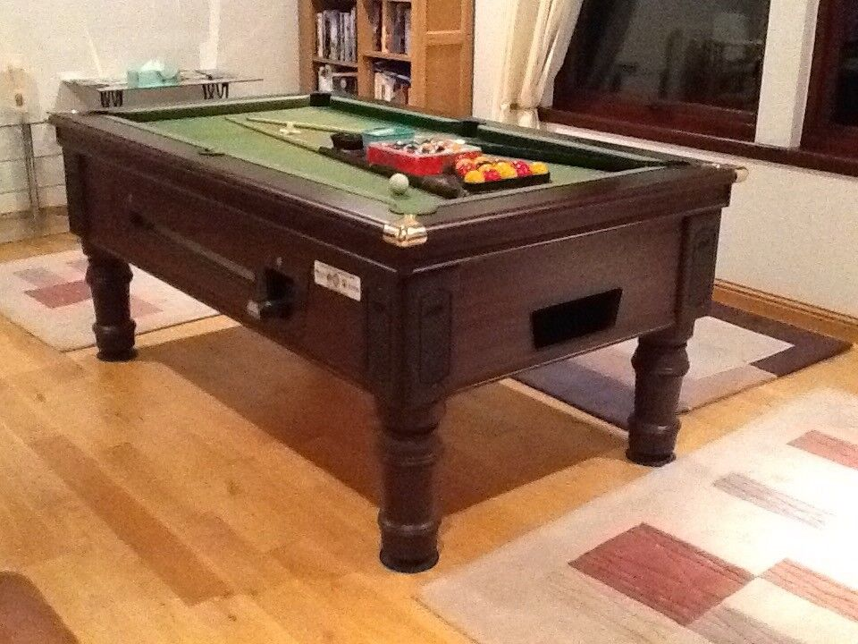 Slate Pool Table Overall Size X In Stonehaven - 9 slate pool table