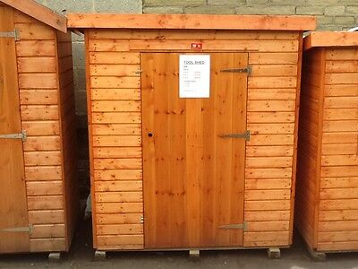 6x3 Wooden Tool Shed Fully T&G Garden Store 6FT x 3FT Outdoor Scooter & Toy Hut