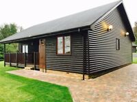Book a log cabin in September 2017, 7 nights pay for 5 or 4 nights pay for 3 at Percy Wood