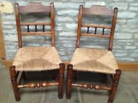 Dinning chairs.