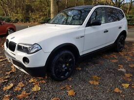 bmw x3 upgraded spec immaculate condition drives as new 2.0 turbo diesel manaul great family car