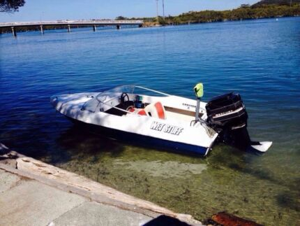 Pride cheetah ski boat 150hp Mercury  Port Macquarie 2444 Port Macquarie City Preview