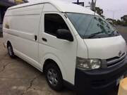 2007 Toyota Hiace High Roof LWB Van Roxburgh Park Hume Area Preview