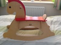 Educo Wooden Rocking Horse Grab Yourself A Bargain