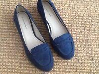 Unworn Loafers size 5